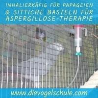 Inhalierkäfig für Papageien basteln
