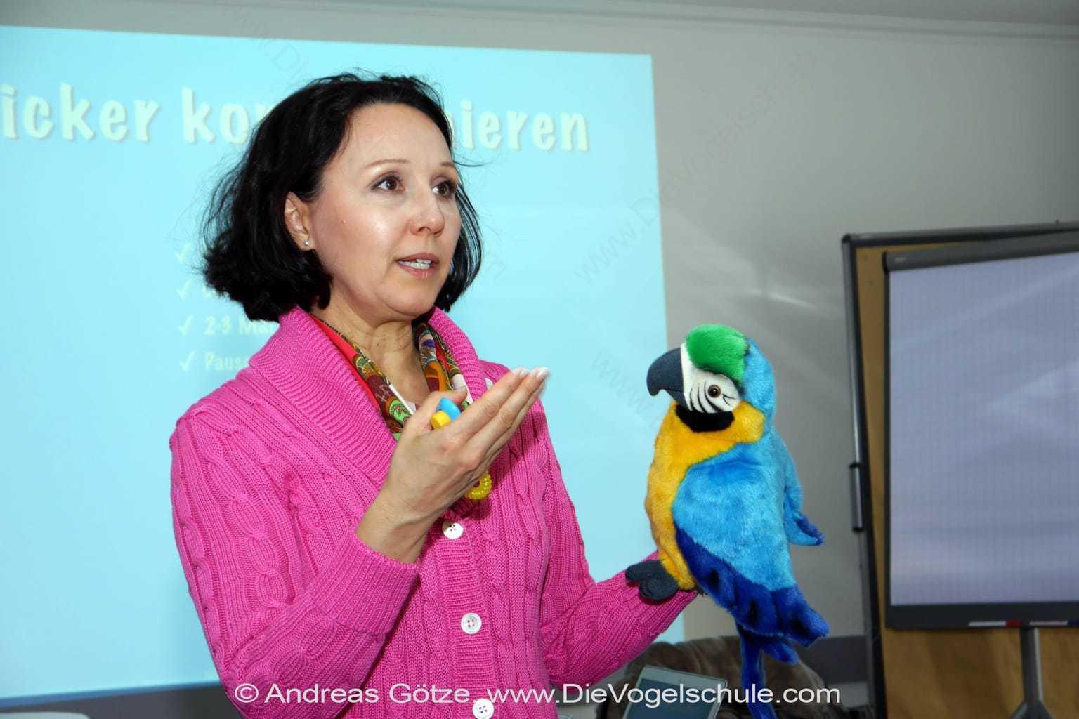 Clickertraining - aber richtig! für Papageien & Sittiche
