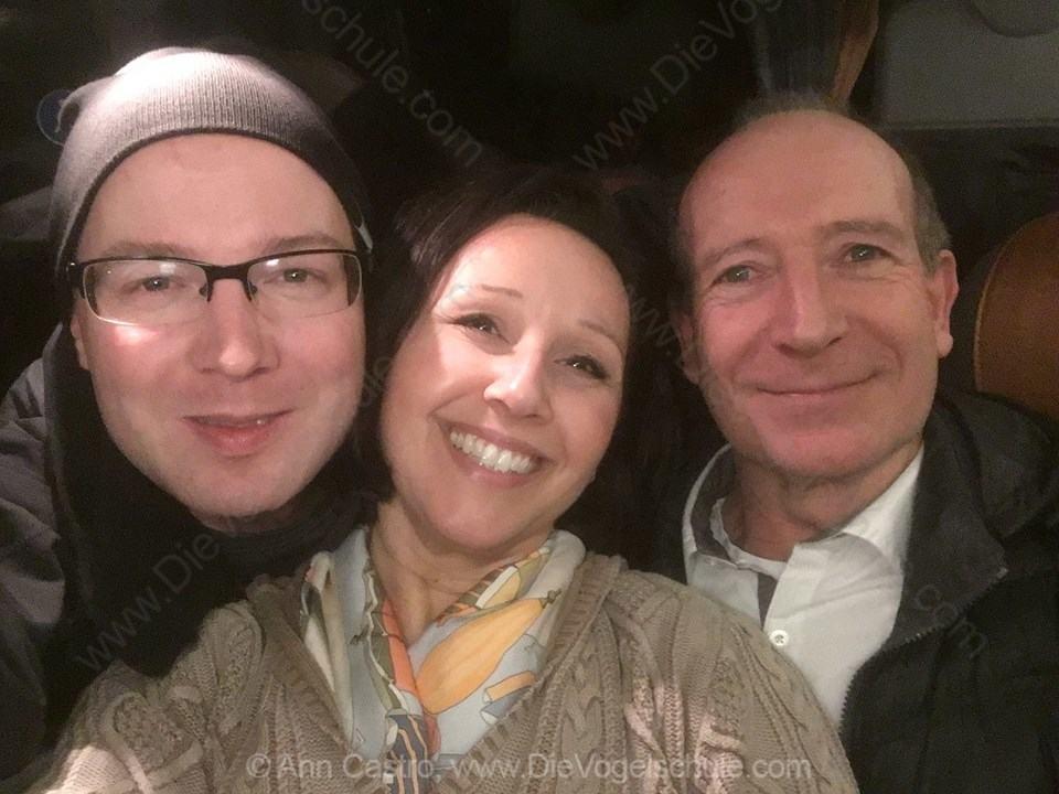 Gruppen-Selfie mit Kameramann Holger Hertel und Docma Chef Dr. Gerald Krakauer
