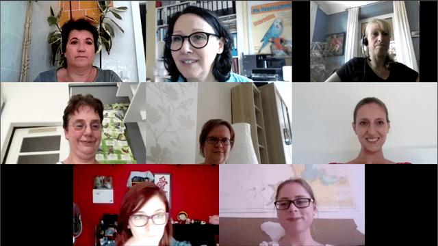Gruppen-Coachings per Videokonferenz helfen bei der Umsetzung