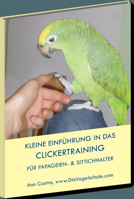 Kleine Einführung in das Clickertraining für Papageien- & Sittichhalter