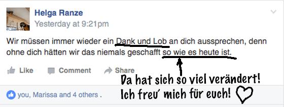 Ara beißt Kunden Kommentar Helga Ranze