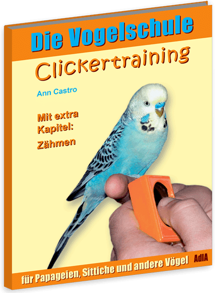 Clicker-Training für Papageien & Sittiche