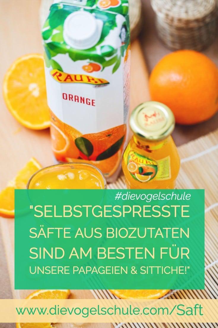 Saft für Papageien & Sittiche P-3