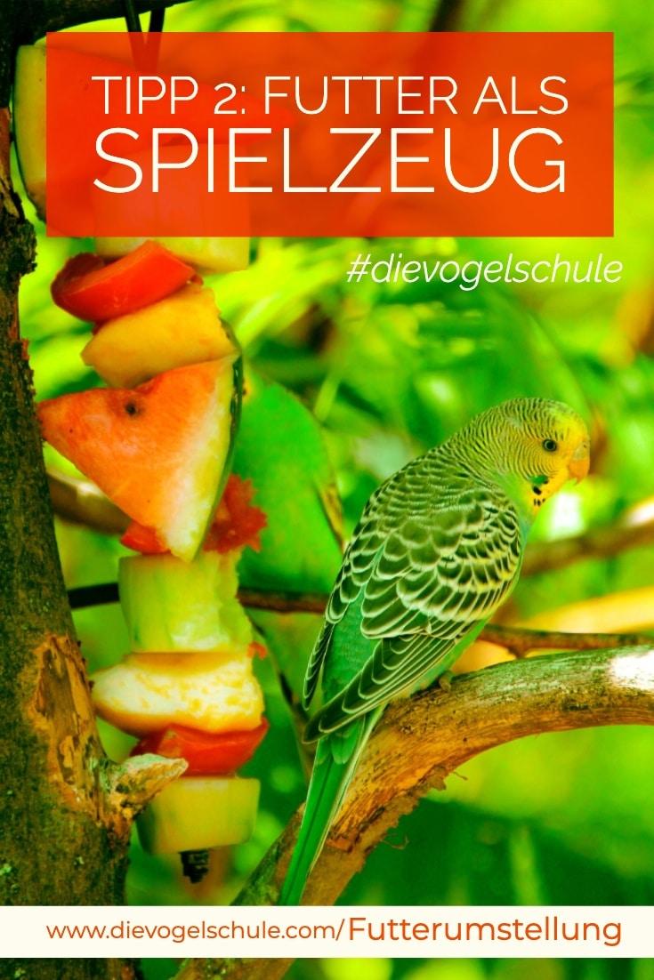 Futter für Papageien P-2